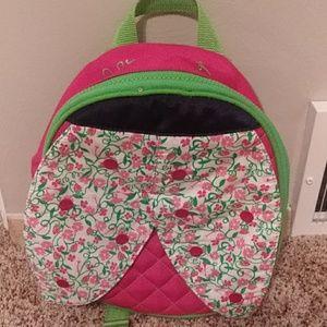 Lilly Pulitzer ,toddler girls ladybug book bag!